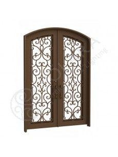 Harlequin iron door