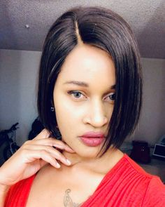 Silky Pixie Cut Wig style from 😇😇 it's so cool and so fashion😍😍 Also the Hottest Bob in the market💝💝 Cap: Lace front wig Density: 150 Code:💖 Pixie Cut Wig, African American Girl, Hair Density, Wig Making, Human Hair Lace Wigs, Wig Styles, Wigs For Black Women, Hairline, Looking Gorgeous
