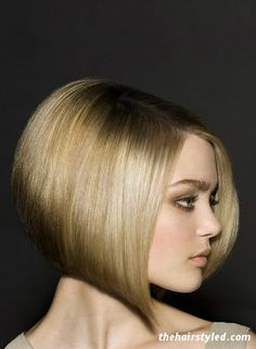 Popular Angled Hairstyles For Women