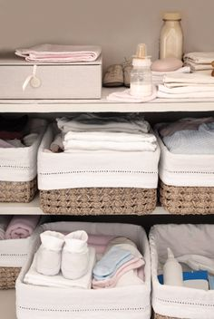 Feather your nest - how to prepare and organize your nursery. Featuring BabyNav Baby Planners.