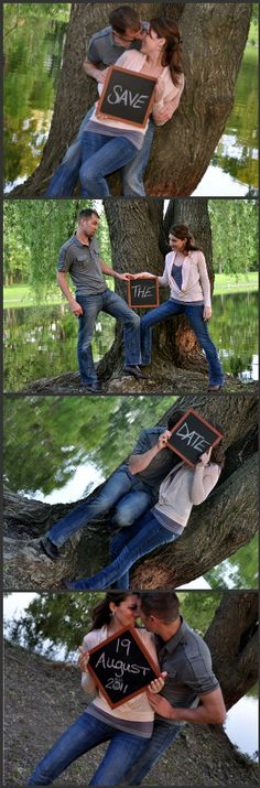 Photobooth styled Save the Date  :) ----- pre wed ideas