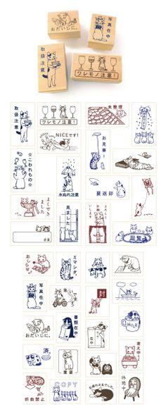 ふわふわポストカードを買いました。ポタリングキャットの猫グッズ - まとめのインテリア / デザイン雑貨とインテリアのまとめ。