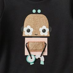 Robot Crew Neck Jumper