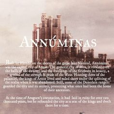 Ruins of Middle-earth: Annúminas