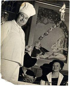 Chef George M. Mardikian, Omar Khayyam's Restaurant, San Francisco, 1938 by San Francisco Public Library Historical Photos, via Flickr