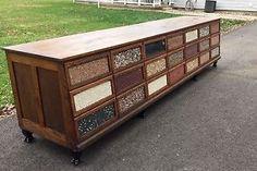 RARE-restored-12ft-Antique-Sherer-Seed-Counter-Primitive-General-Store-Oak