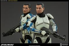 SIDESHOW COLLECTIBLES CLONE TROOPERS ECHO AND FIVES AVAILABLE FOR PRE-ORDER