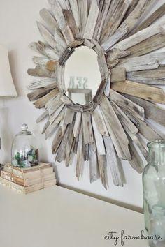 Ideas para decorar nuestro hogar con trozos de naturaleza como: piedras, ramas y hojas de árbol