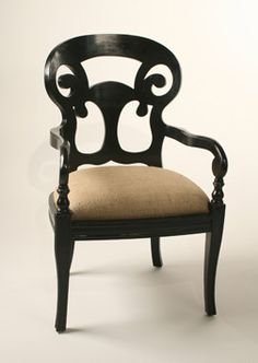 I need to recover my dining chairs, maybe a solid neutral