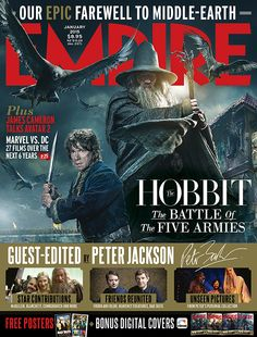 Empire January 2015 - The Hobbit: The Battle Of The Five Armies (Guest edited by Peter Jackson)