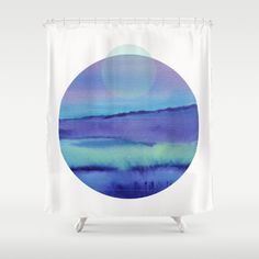 Watercolor S. 03 Shower Curtain by vivigonzalezart Cute Shower Curtains, Tapestry, Watercolor, Bathroom, Prints, Home Decor, Hanging Tapestry, Pen And Wash, Washroom