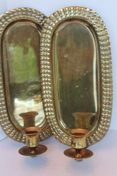Lovely French Vintage Metal brass Gold Sconce by PetitFarmhouse, $18.50