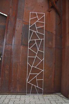 Rankgitter aus Edelstahl mit original Schmitzstruktur