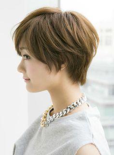 【ショートヘア】大人に似合う耳かけショートスタイル/Ramieの髪型・ヘアスタイル・ヘアカタログ|2016冬春