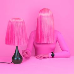"""She's sweet and looks pretty in pink. But beware because she isn't what you think!"", creative by Leta Sobierajski, pinned by Ton van der Veer Minimal Photography, Still Life Photography, Fashion Photography, Pink Photography, Conceptual Photography, Pink Lady, Rookie Red Velvet, Poster Design, Ideias Diy"