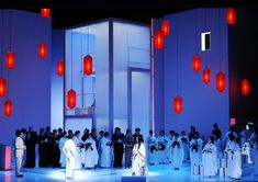 Scene from Madame Butterfly at the Zurich Opera House, 2009 Set Theatre, Set Design Theatre, Stage Design, Madame Butterfly Puccini, Church Stage, Stage Set, Scenic Design, Installation Art, Design Model