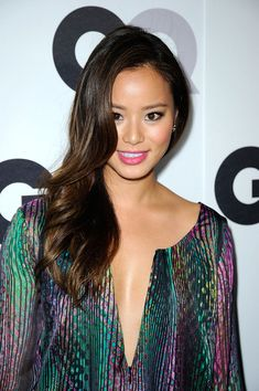 """Jamie Chung Photos - Actress Jamie Chung arrives at the Annual GQ """"Men Of The Year"""" Party at Chateau Marmont on November 2011 in Los Angeles, California. - Annual GQ """"Men Of The Year"""" Party - Arrivals Hair Styles 2014, Hot Hair Styles, Hottest Female Celebrities, Beautiful Celebrities, Celebrity Hairstyles, Latest Hairstyles, Party Hairstyles, Long Hairstyles, Jamie Chung Hair"""