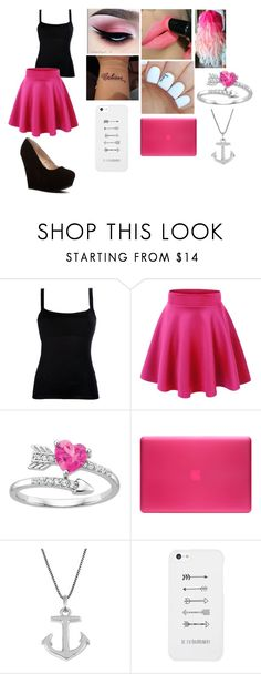 """""""Cute Pink Outfit"""" by sadiemay42 ❤ liked on Polyvore featuring Valentino, Incase, Jewel Exclusive, LG and vintage"""