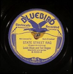 """This 78 RPM record of """"Doing A Stretch"""" by Blind Blake brought $1,325.78 in an eBay auction that close in April of 2015. Notice that the label states the song was """"electrically recorded,"""" dating it from the late 1920s to early '30s."""