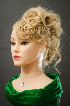 Creative updo by Puk, www.rockyourhair.dk #hair #updo #party #curls