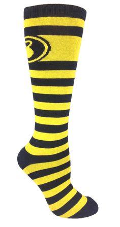286e3ff09  10 Moxy Socks Black and Yellow Striped Kettlebell CrossFit Socks