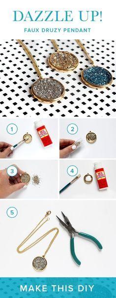 Dale a tu look el toque de brillo que merece con este collar. | 14 Hermosísimos accesorios que vas a querer ya y puedes hacer tú misma