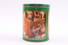 Vintage Purina Biscuts Dog Food Tin 1980s Kitchen Decor  The Pink Room  161104 by ThePinkRoom