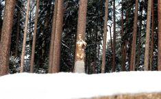 Naše práce   Flera Garden Art, Bronze, Snow, Landscape Architecture, Outdoor, Garden Sculpture, Outdoors, Outdoor Games, The Great Outdoors