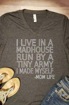 Mom Life Shirt @allyssarider