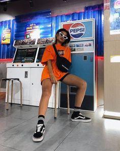 Best Baddie Outfits Part 16 Mode Outfits, Grunge Outfits, Trendy Outfits, Summer Outfits, Neon Outfits, 90s Grunge, Grunge Style, Soft Grunge, Fashion Killa