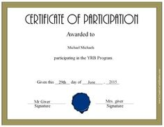 Certificate Of Participation Template Certificate Of Participation Office Templates, Free Certificate Of Participation Customize Online Print, 52 Free Printable Certificate Template Examples In Pdf Word, Certificate Of Participation Template, Free Printable Certificate Templates, Certificate Maker, Resume Template Free, Career Day, Narrative Essay, Cover Letter Sample, Good Essay