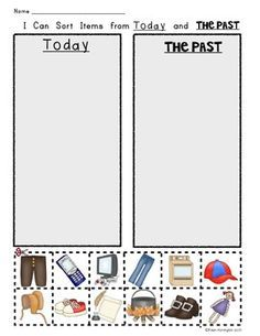 math worksheet : free!!! the history of toys worksheets  ready to print and use in  : Kindergarten History Worksheets