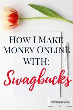 how-i-make-money-online-with-swagbucks www.simplyhipsavings.com