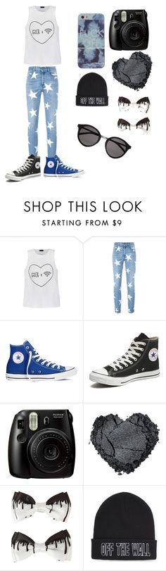 """""""BEAUTIFUL"""" by viltemo ❤ liked on Polyvore featuring beauty, Ally Fashion, STELLA McCARTNEY, Converse, Vans and Yves Saint Laurent"""