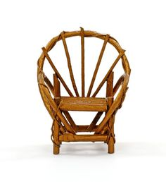 Follow Ernest Lewis in a step-by-step process on how to make willow chairs. Learn how to gather willow, tools needed for the job and willow chair design.data-pin-do=