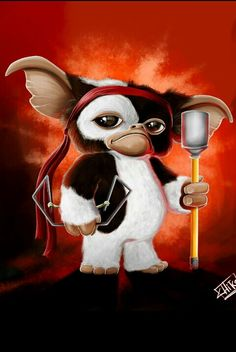 Gizmo, first blood