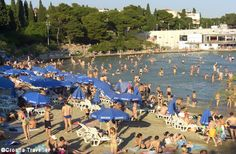 Bačvice beach, Split, Croatia