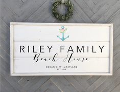 Excited to share this item from my shop: beach house sign, custom sign, framed shiplap wood sign Wedding Signs, Our Wedding, Shiplap Wood, Beach House Signs, Cottage Signs, Home Decor Signs, Real Wood, Wooden Signs, Etsy Shop