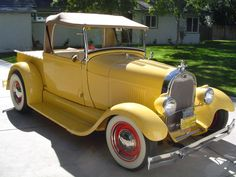 '28 Ford : Model A roadster pickup...brought to you by #HouseofInsurance #EugeneOregon