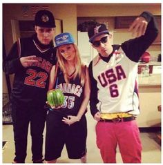 """January 2014: The Tau Kappa Epsilon fraternity at Arizona State University hosted a so-called Martin Luther King, Jr party in which """"mocked blacks by donning loose basketball jerseys, flashing gang signs and drinking from hollowed-out watermelons."""" Photos online were tagged with #hood."""