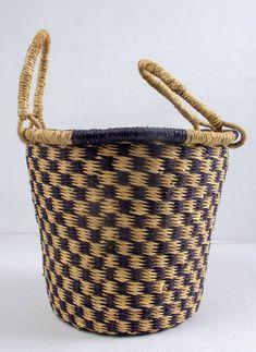 """African wall art shop // African design art//African shop basket // woven decor/17"""" Baskets On Wall, Woven Baskets, Winter Bedroom Decor, African Shop, African Wall Art, Basket Bag, Weaving Art, Basket Decoration, African Design"""