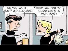 The Norm Comics - Bagging the limit