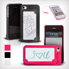 Etch-a-Sketch iPhone Case...doodle your hearts out! $9.99