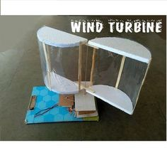 How to make wind turbine - cool science project - YouTube