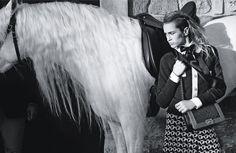 Chanel boy handbags ss13 w/ Alice Dellal