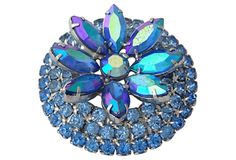 Layered Wreath Brooch on OneKingsLane.com