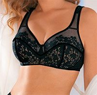 Pattern bra large size. Circumference below the breast 90 and 95 cm.