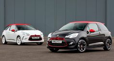 Citroen DS3 Red Special Editions black - white
