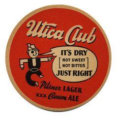 Utica Club. The West End Brewing Co., Utica, N.Y.