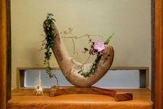 流木の花器 2005-4